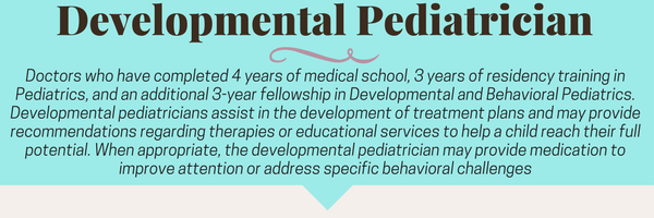 Developmental Pediatrician Roll in Early Childhood Intervention